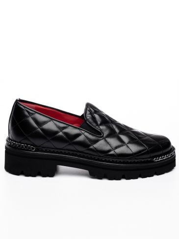 Padded Δερμάτινα Loafers